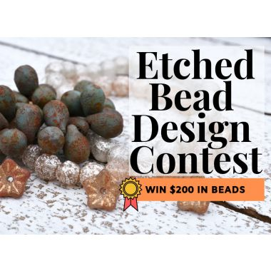2019 Etched Bead Design Contest!