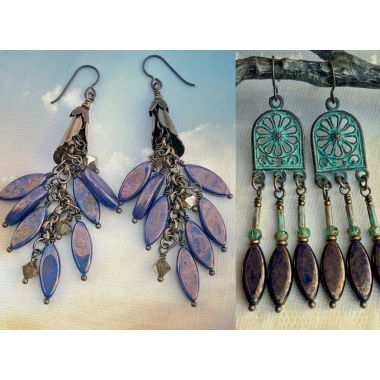 A Variety of Elegance Using Spindle Beads