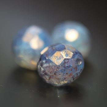 03mm Faceted Rounds