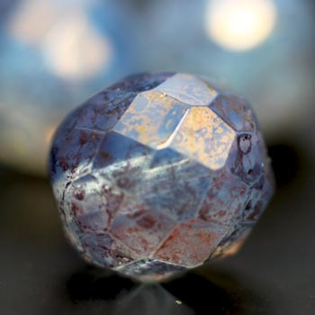 Faceted Round FirePolished Beads
