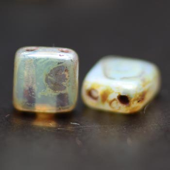 Tile Beads - 2 hole