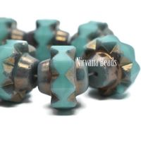 13x15mm Crown Tiffany with a Bronze Finish