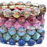 8x10mm Faceted Bicone Mix