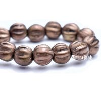 4mm Melon Bronze