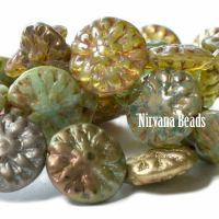 14mm Dahlia Metallic Mix Compliments Collection
