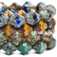 10x11mm Baroque Bicone Mix