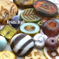 MIX Loose Beads - Czech Glass Beads- Nirvana Beads