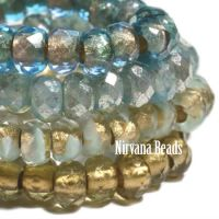 6x9mm Roller Bead a Day At the Ocean Collection