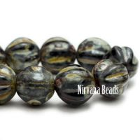 6mm Melon Black with Picasso Finish