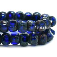 4x3mm Trica Sapphire with An Etched and Picasso Finish