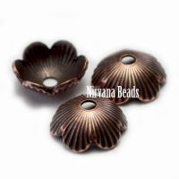 6mm Decorative Cap Copper Plated Brass