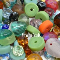MIX Loose Beads - Glass Beads- Nirvana Beads