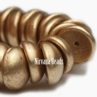 4x8mm Piggy Bead Gold