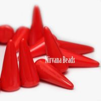 5x13mm Spikes Scarlet Red