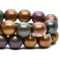 6mm Round Druk Metallic Mix