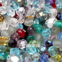 MIX Loose Beads - Fire Polished Beads
