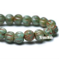 3mm Melon Sea Green with Picasso Finish