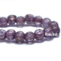 3mm Melon Violet with a Golden Luster