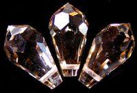 Preciosa Crystal  5.5x11mm Honey