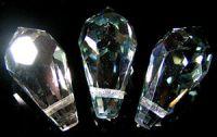 Preciosa Crystal  5.5x11mm Viridian