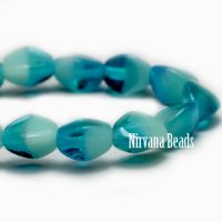 5mm Pinch Bead Pacific Blue