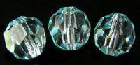 Preciosa Crystal  10mm Light Blue