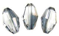 Preciosa Crystal  10.5x7mm Valentinite