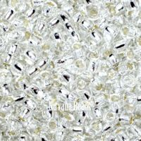 6/0 TOHO Round Crystal Silver-Lined