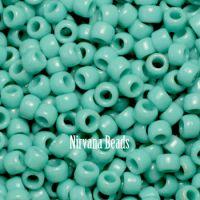 6/0 TOHO Round Turquoise Opaque