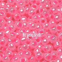 6/0 TOHO Round Ceylon Hot Pink