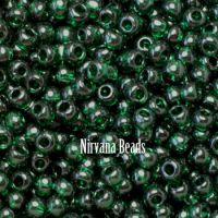 6/0 TOHO Round Emerald Green Transparent