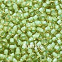 6/0 TOHO Round Jonquil/Mint Lined