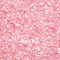 8/0 TOHO Round Pink Ballerina Dyed-Rainbow