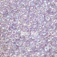 8/0 TOHO Round Lavender Mist Dyed-Rainbow