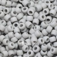 8/0 TOHO Round Grey Opaque-Frosted