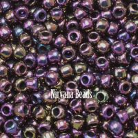8/0 TOHO Round Iris Purple