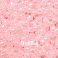 11/0 TOHO Round Baby Pink Opaque-Lustered