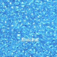 11/0 TOHO Round Aquamarine Transparent