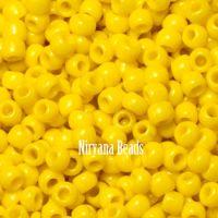 11/0 TOHO Round Yellow Sunshine Opaque
