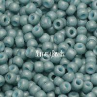 11/0 TOHO Round Blue Turquoise Semi Glazed