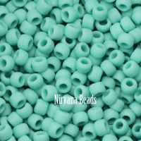 11/0 TOHO Round Turquoise Opaque-Frosted