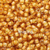11/0 TOHO Round Jonquil/Burnt Orange Lined