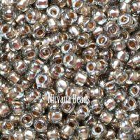 11/0 TOHO Round Black Diamond Gold-Lined