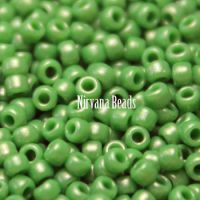 11/0 TOHO Round Hybrid Green