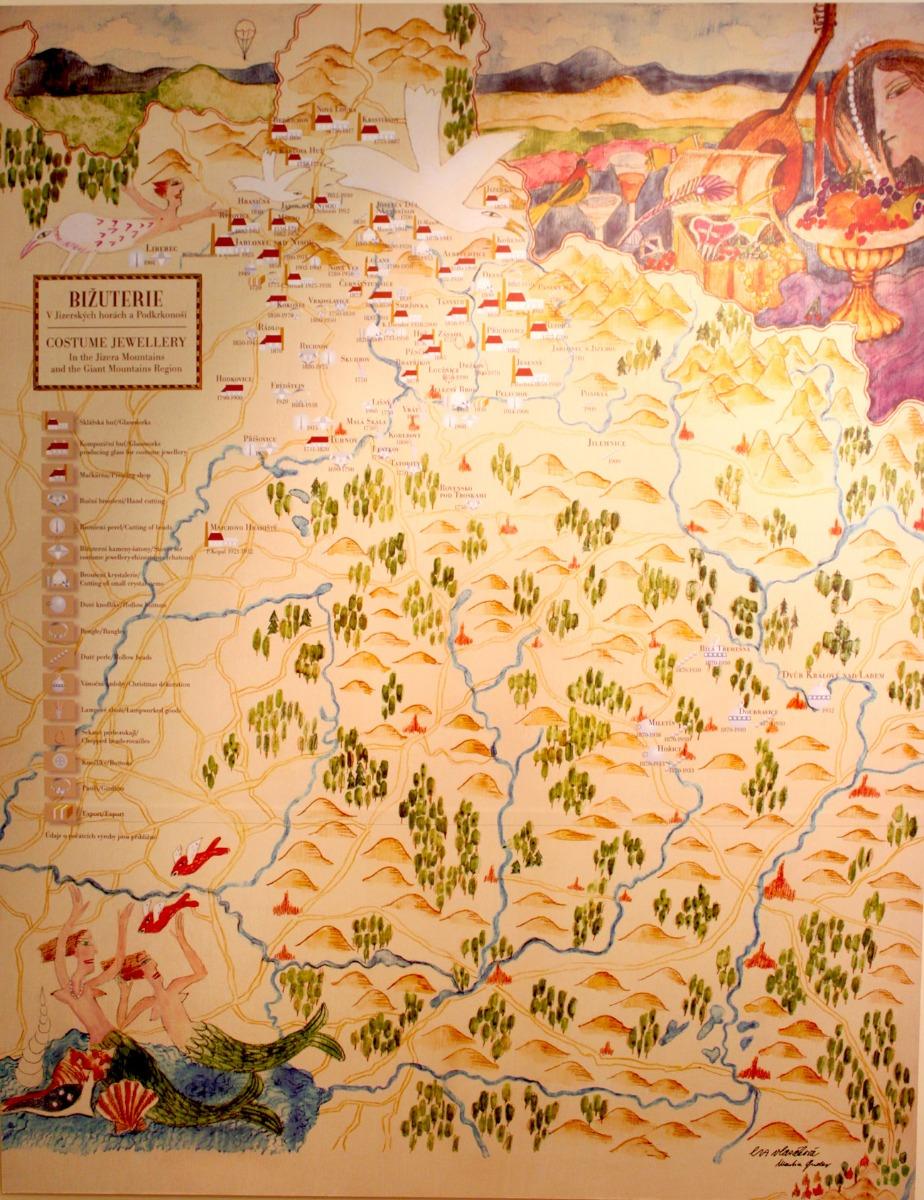 old jablonec workshop map