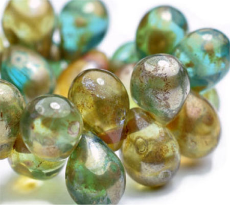 czech glass beads