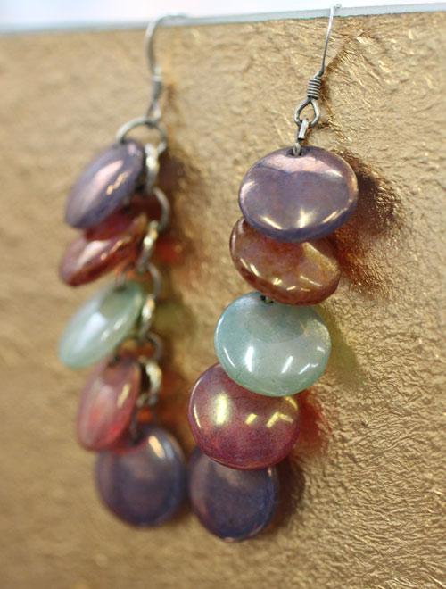 Lentils earrings