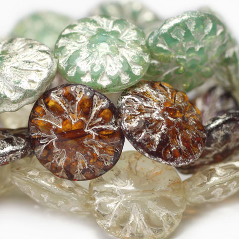 Mercury Finish Beads - Czech Glass Beads